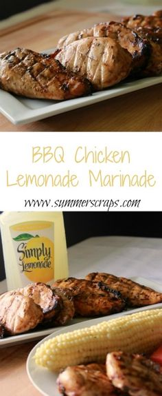 Lemon Herb BBQ Chicken with Sweet Mesquite Beans | Bbq Chicken, Herbs ...