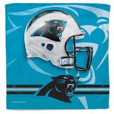 """Carolina Panthers WinCraft 16"""" x 16"""" Collector Towel - NFL #WinCraft #CarolinaPanthers"""