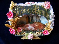 Altered Altoids Tin: Sleeping Beauty