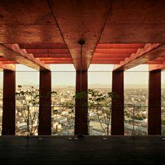 Reforma 27, na Cidade do México. Projeto de Alberto Kalach. #architecture #arts #arquitetura #arte #decor #decoração #design #interiores #projetocompartilhar #shareproject #madeiraeconforto #madeira #wood #conforto
