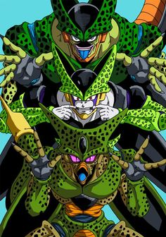 Cell was such an awesome villain, so much more likeable than Frieza and Majin Buu!