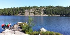 Canoe Minnesota Boundary Waters Canoe Area Wilderness or Canada's Quetico Park
