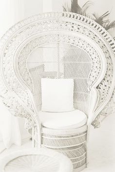 Bohemian Bride / Peacock Chair