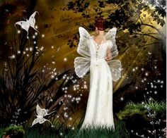 Beautiful Fantasy Fairy Pictures   Fairy Fantasy Girl Female Fire Fun Gorgeous Great