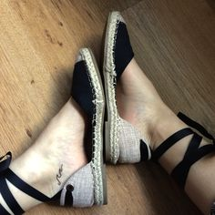 #tatoo #espadrilles #wave