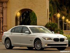 BMW 750Li. Dream big or go home. My next car. black on black. A girl can dream! :)