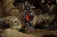 Ethereal Copper Wire Wrapped Jewelry by Calisto Breeze http://ift.tt/2cZo0Tb