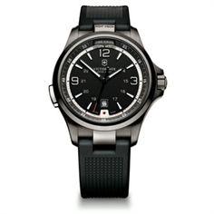 Victorinox Swiss Army Night Vision Black Band Watch