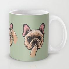 No Evil  Frenchie Mug