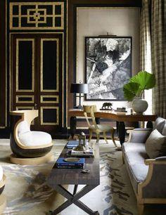 Jean-Louis Denoit works in a Regency inspired design style