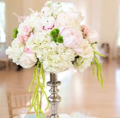 Wedding reception centerpiece idea; Featured Photographer: Anne Lee Photography