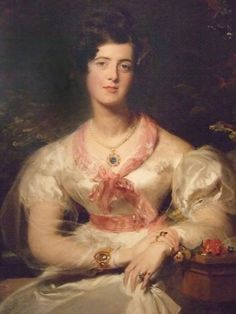 1828 Honorable Mrs. Julia Seymour Bathurst, née Hankey by Sir Thomas Lawrence