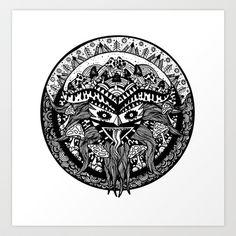 Shamandala Art Print by Vera Moire - $17.00