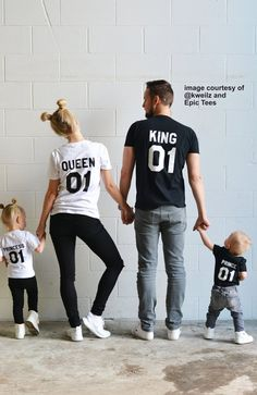 King Queen Prince Princess 01 Father Mother Daughter Son Matching shirts King and Queen shirts UNISEX Price per item - Princess T Shirt - Ideas of Princess T Shirt - König Königin Prinz Prinzessin 01 Vater Mutter Tochter Sohn Cute Family, Family Goals, Family Tees, Modern Family, Mom Family, Family Weekend, Fall Family, Happy Family, Couple Goals