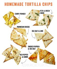 How to make Homemade Tortilla Chips by alisaburke