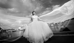 Posted by ching pang. World Best Photos, Real People, Perfect Wedding, One Shoulder Wedding Dress, Wedding Dresses, Photography, Cannon, Website, Tags