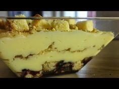 Χριστουγεννιάτικη Πουτίγκα - Vanilla Pudding - YouTube Greek Recipes, Tiramisu, Vanilla, Pudding, Sweets, Cookies, Cake, Ethnic Recipes, Desserts