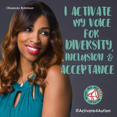 """""""Diversity, inclusion and acceptance are important for a better world tomorrow…and today. That's why I activate my voice for autism."""" https://geekclubbooks.com/activate4autism/?utm_campaign=coschedule&utm_source=pinterest&utm_medium=Geek%20Club%20Books&utm_content=%23Activate4Autism%20to%20Speak%20Out%20for%20Acceptance%21%20%7C%20Geek%20Club%20Books"""