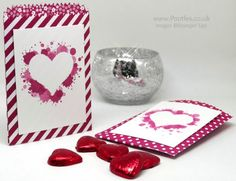 Stampin' Up! Demonstrator Pootles - Mini Treat Bag with Reverse Stencilling - visit for tip video