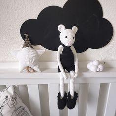 """Mr. White says Good Night  #leggybuddy #musicstar #mousegoodnight #crochet #decor #nursery #boys #boysroom #conceptstore #kidsconceptstore #horse #leggybuddy #style #monochrome #kidsroom #kinderzimmer #mouse #space #interiors #crochet #crafts #urbankids #urbanmom #kidsmagazine #mumblogger #handmadetoys #barnrum #bamser #minimalistic #design #designer #interiors #kidsinteriors"" Photo taken by @leggybuddy on Instagram, pinned via the InstaPin iOS App! http://www.instapinapp.com (07/08/2015)"