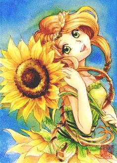 Sunflower by Ephirel.deviantart.com on @deviantART