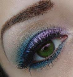 Make-up for green eyes www.makeupbee.com...