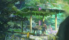 Top 10 Enjoyable Anime film to watch if you like Studio Ghibli movies The Garden of Words have met, for each of us to walk forward.Takao, who is training to become a shoe… Hayao Miyazaki, Words Wallpaper, Wallpaper Backgrounds, Wallpaper Desktop, Wallpapers, Work In Japan, The Garden Of Words, Avant Premiere, Couples