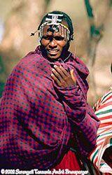 Masaï du parc National du Serengeti, Tanzanie