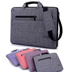 Laptop Bag Graphic Creative 15-15.4 Inch Laptop Case College Students Business People Office Workers Briefcase Messenger Shoulder Bag for Men Women