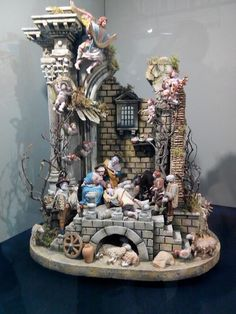 1 million+ Stunning Free Images to Use Anywhere Christmas Nativity Scene, Christmas Carol, Christmas Lights, Christmas Holidays, Christmas Crib Ideas, Diy Christmas Gifts, Christmas Decorations, Nativity Coloring Pages, Architectural Sculpture