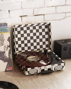 """2,642 Likes, 10 Comments - Urban Outfitters Men's (@urbanoutfittersmens) on Instagram: """"Checks, please.   #UOMens #UOTech   Crosley Checkerboard Cruiser Bluetooth Record Player, SKU…"""""""
