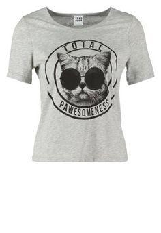 VMFUNNY - Camiseta print - gris