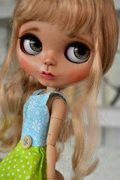 Check out this item in my Etsy shop https://www.etsy.com/listing/544735483/ooak-blythe-dollsylvie-custom-art-blythe