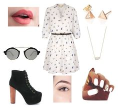 """""""""""A Walk In The Park"""" Summer Days Collection"""" by oliphantt on Polyvore featuring Jeffrey Campbell, Yumi, Kendra Scott and Illesteva"""