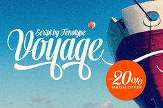 Voyage Christmas Sale $40 by Fenotype on Creative Market