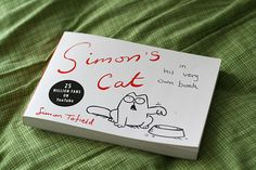 Simon's Cat - very entertaining book, you are garanteed to laugh on every page.