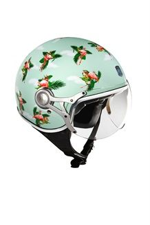 8d3205e1cb Looking for a gorgeous open face helmet to wear burning around the streets   These Exklusiv helmets from Roll in Style are sourced from the European  market ...