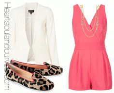 Romper and blazer