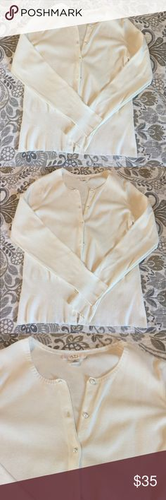 Ann Taylor Cardigan Excellent condition, hardly worn. Pearl buttons. No stains or rips. Ann Taylor Sweaters Cardigans