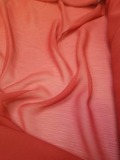 """1 yard chiffon fabric abstract tie dye vintage floral 59/"""" wide sheer rose grey"""