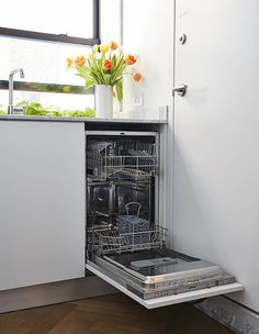 Tour a Micro-Apartment Packed With Small-Space Ideas Panel Ready Refrigerator, Micro Studio, Smeg Kitchen, Design Your Life, Decorating Small Spaces, Decorating Ideas, Apartment Living, Studio Apartment, Small Apartments