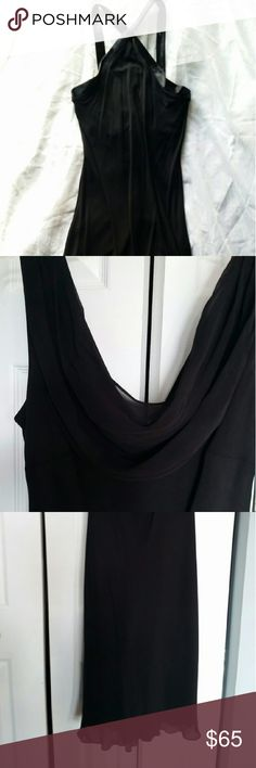 NWT Ralph Lauren black dress RL new black dress never worn with tags. Very overlay with liner. Very pretty comes just below the knee. Ralph Lauren Dresses