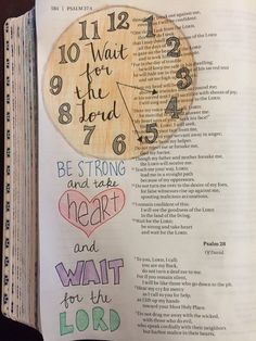 I am currently in a season of waiting, and it is very frustrating. I am not a patient person, nor do I like to not be in control. However, I know God is working on and changing me during this diffi…