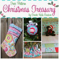 Create Kids Couture: Christmas Treasury