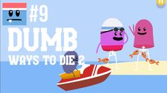 Walkthrough Dumb Ways To Die 2 | gameplay no commentary. Fun games for the whole family to enjoy and great kids entertainment. Downloadable on PC and Android devices. : shark jumping, javelin catching, electric hurdles, killer whale dentistry, 100m piranha freestyle... you get the picture. Do all this without dying horribly. Loads of epic fails.
