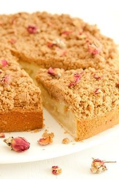 My favourite cake Apple Recipes, Sweet Recipes, Baking Recipes, Cake Recipes, Cake Cookies, Cupcake Cakes, Apple Crumble Cake, Apple Crumble Receta, Apple Pie