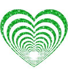 GREEN HEARTS - love Photo