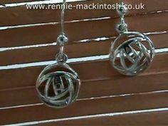 Rennie Mackintosh Silver Earrings DSG172m2 - http://jewellery.chitte.rs/earrings/rennie-mackintosh-silver-earrings-dsg172m2/