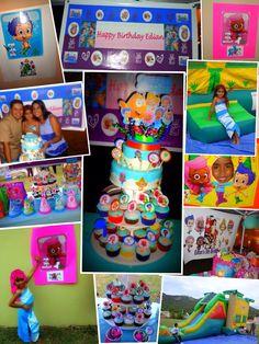 BUbble Guppies Birthday Ideas. Edian's 5th Bday Guayama, PR
