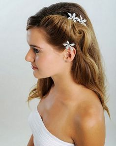 simple side updo for prom